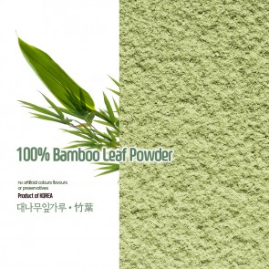 100% Natural Korean Bamboo Leaf Powder