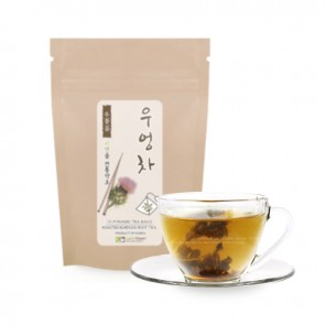 [Pyramid Teabags] Roasted Burdock Root Tea